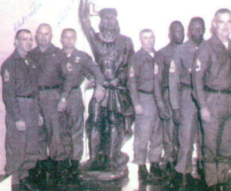 Senior NCO's - 2nd Battalion = 501st -  Fort Campbell 1967